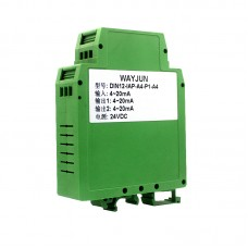 4-20mA/0-10V Current or Voltage signal isolated splitter (one in two out)  DIN12