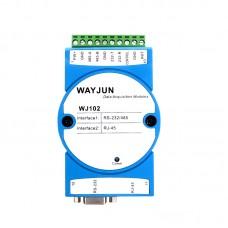 Modbus RTU to Modbus TCP , RS-232 RS-485 to Ethernet converter Module WJ102