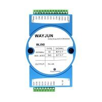 8 DI and 8 DO signal to  Ethernet  RJ45 Modbus TCP Remote IO module WJ90