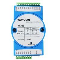 8-CH DI or Counter, 8-CH DO or PWM output, MODBUS TCP Remote IO module WJ93